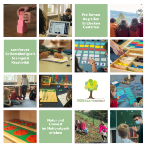 Flyer Montessori Freyung Grundschule frei lernen
